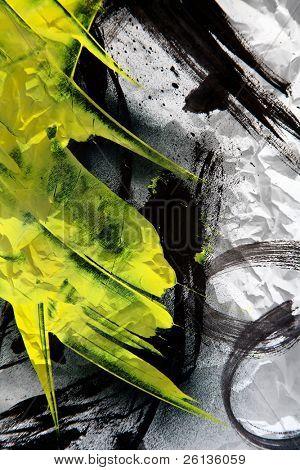 Grunge Texture expressiven Pinselstrichen