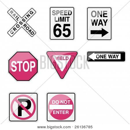 Street Signs - Glossy