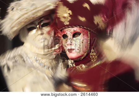 Fashionable Carnival Of Venice