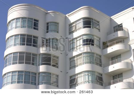 Art Deco Apartment Building #1