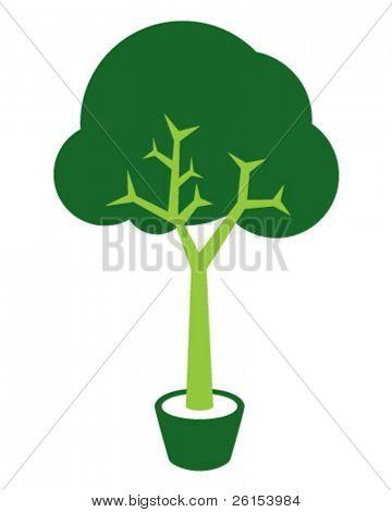little green tree