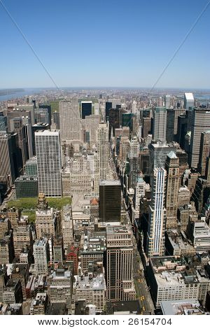 View of Manhattan New York