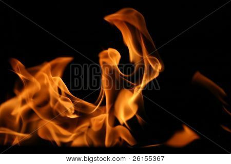 Fire for background use