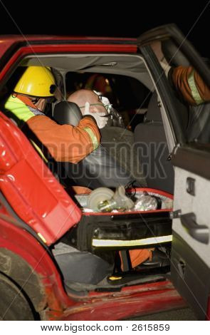 Man Hurt In Car Accident