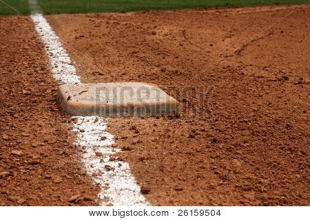 Baseball Third Base Line