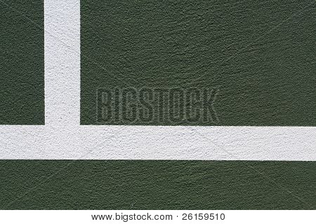 Tennis Gericht Hintergrund mit Platz für Kopie