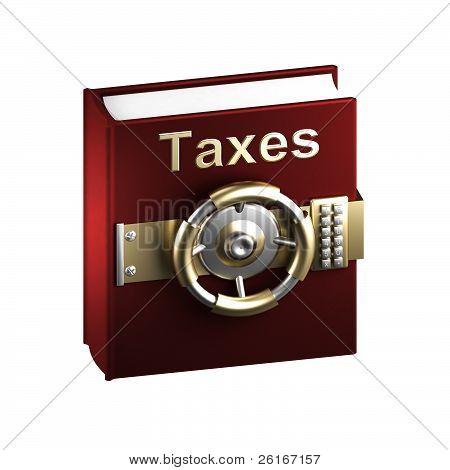Impuestos como un libro secreto