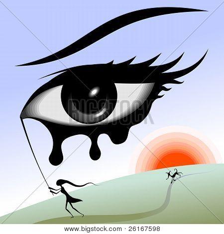 Eye in the sky.