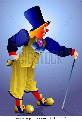 Clown In A Cap