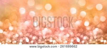poster of Colored Abstract Blurred Light Glitter Background Layout Design Can Be Use For Background Concept Or