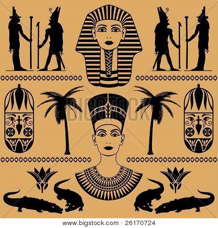Egyptian Decorative Patterns
