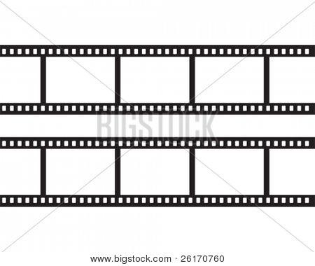 Filme negativo em branco