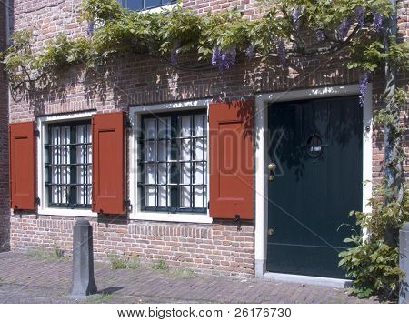 Dutch historic facade 2