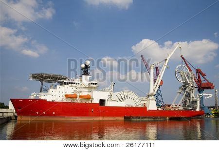 Construction vessel 1