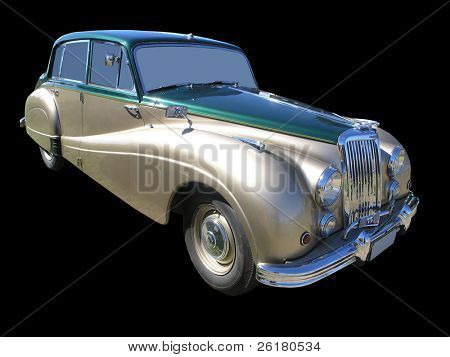 A 1955 Armstrong Siddeley Sapphire