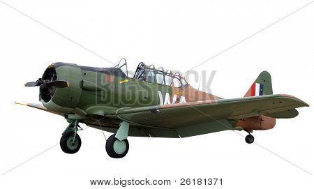 Vintage Harvard Aircraft