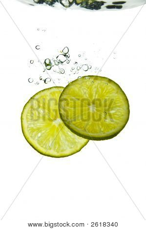 Citrus Fruit - Lime Water Plunge