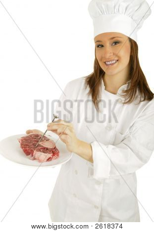 Measure Meat Temperature