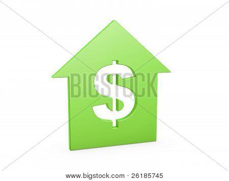 Dollar Haus-symbol