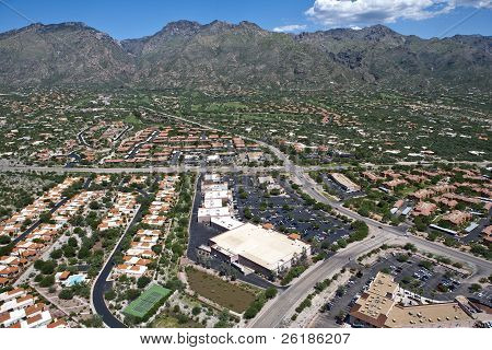 Catalina Mountains in Tucson, Arizona