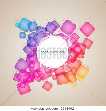 EPS10 Colorful Abstract Vector Layout