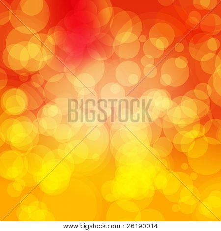 EPS 10 Colorful Bokeh Abstract Vector Background
