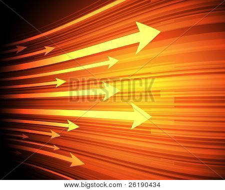 EPS10 Arrow Design Vector Background