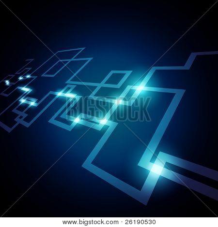 EPS10 Rede coloridos Vector Design