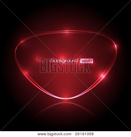 EPS10 Fala bolha de luz Vector Design
