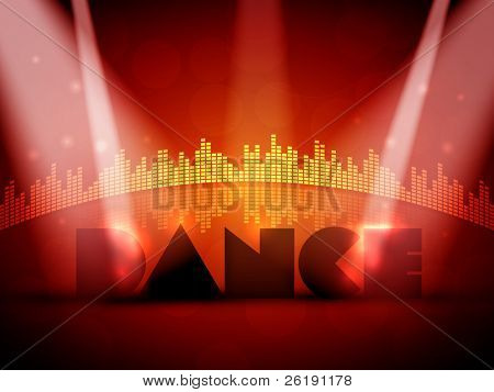 Colorful EPS10 Design for Dance - Vector Background