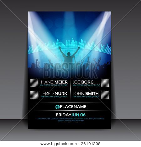 Colorful EPS10 design â?? Sensation Party - Vector Background in A/3 size