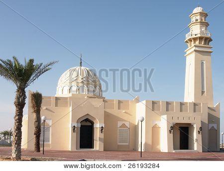 Mezquita en West Bay, Doha, Qatar
