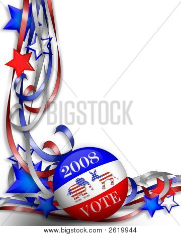 Election Day Stars And Stripes