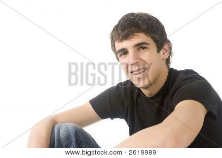 Atraente adolescente de dezesseis ano de idade