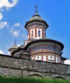 Romania. Sinaia Monastery poster