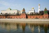 Постер, плакат: Путешествие в России Москва Кремль
