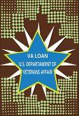 Conceptual Hand Writing Showing Va Loan U.s Departament Of Veterans Affairs. Business Photo Text Arm poster