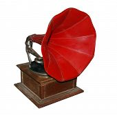 picture of hooters  - Antique Gramaphone - JPG