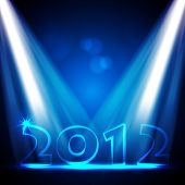stock photo of new years celebration  - 2012 New Years Eve Vector Design - JPG