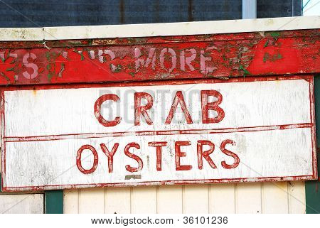 Crab Oysters