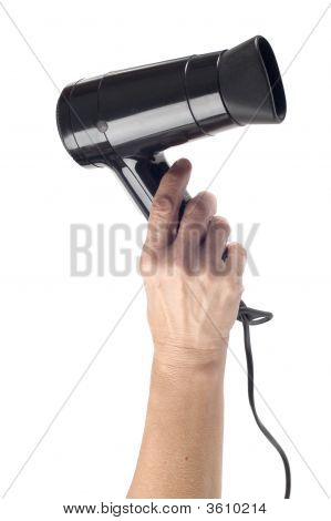 Hand With Hair Drier