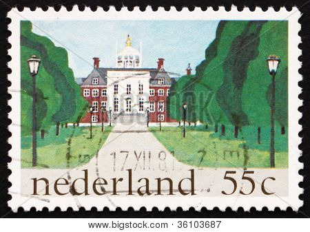 Postage stamp Netherlands 1981 Royal Palace, The Hague