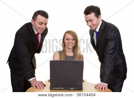 Trio Of Business People