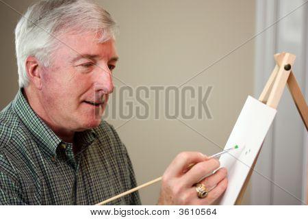 Malerei Mann