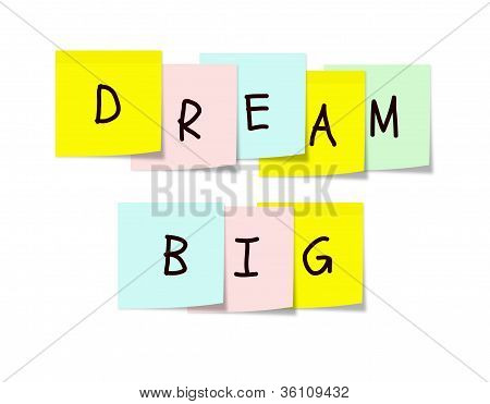 Dream Big Sticky Notes