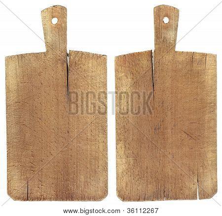 Old Wood Cutting Board