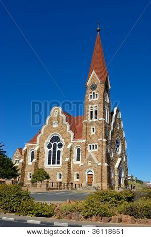 The Christuskirche In Windhoek, Namibia