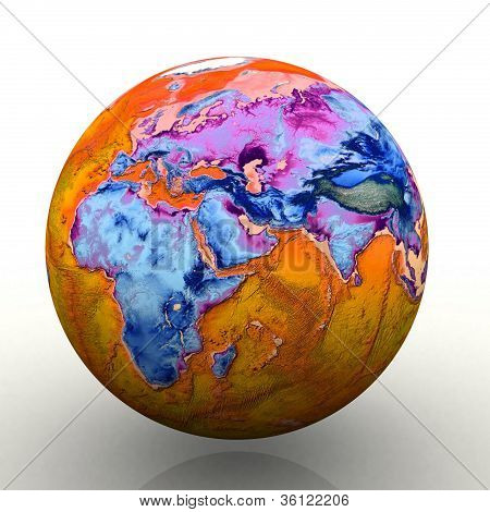 The world in color