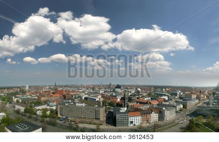 Skyline Of Hanover, Germany