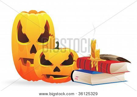 Jack O Lanterns And Scientific Books